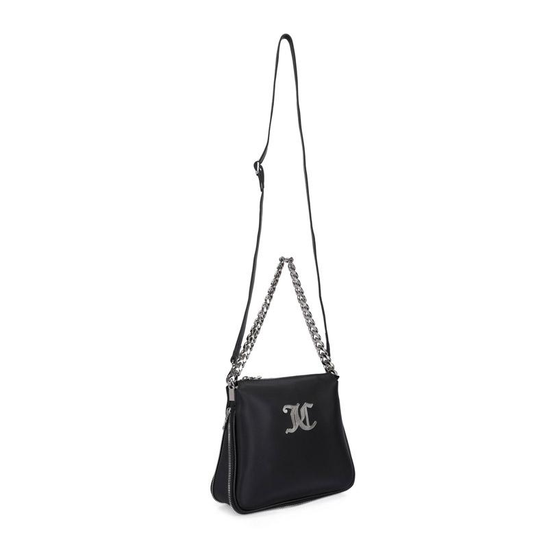 Γυναικεία Τσάντα Ώμου Χρώματος Μαύρο Juicy Couture 134 673JCT1170