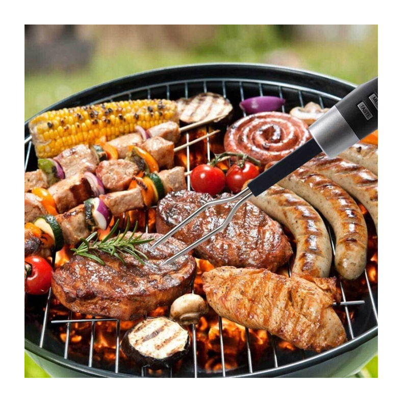Ψηφιακό Θερμόμετρο Μαγειρικής από Ανοξείδωτο Ατσάλι Hoppline HOP1001243