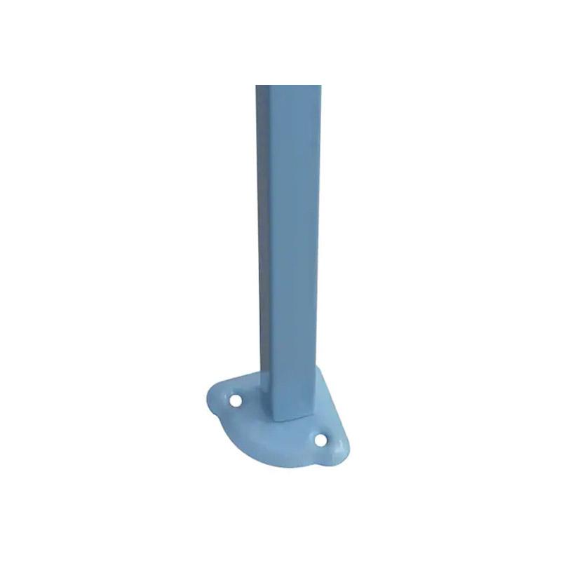 Πτυσσόμενο Κιόσκι Κήπου 2.9 x 4.25 x 3 m Χρώματος Μπλε Hoppline HOP1000736-1
