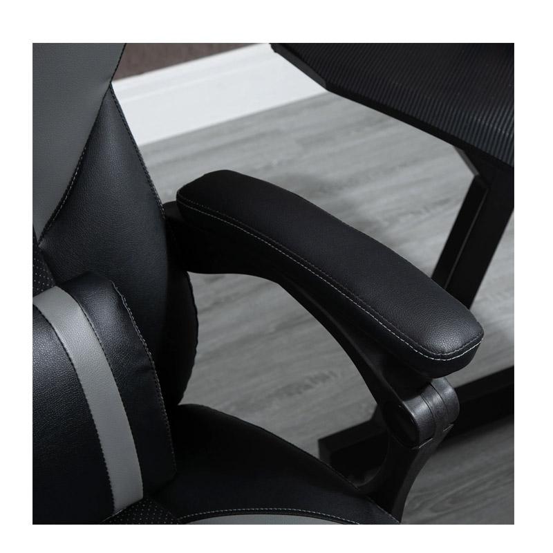 Καρέκλα Gaming με Υποπόδιο 64 x 62 x 114-124 cm Vinsetto 921-468