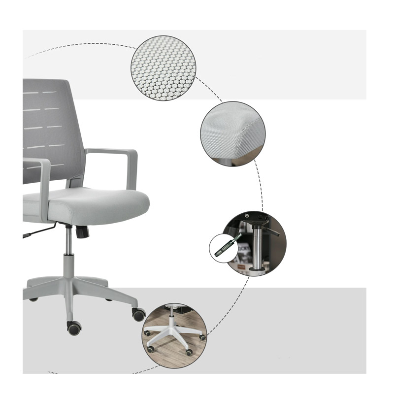 Καρέκλα Γραφείου 59 x 61 x 95.5 - 105 cm Vinsetto 921-408V70