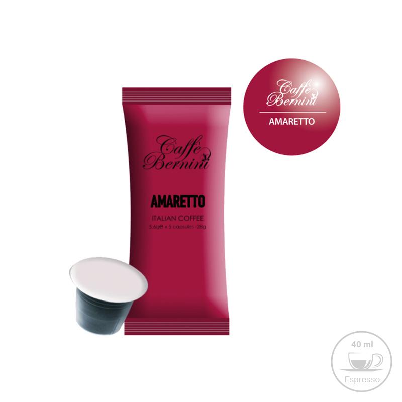 Κάψουλες Bernini Caffe Espresso με Άρωμα Amaretto