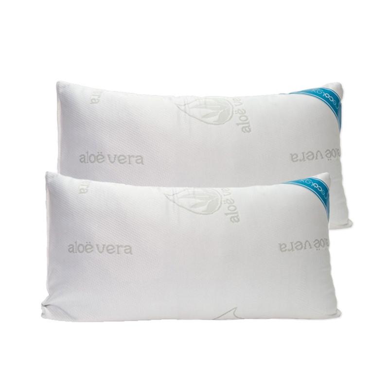 2 Ανατομικά μαξιλάρια Cecotec απο 100% memory foam με εκχύλισμα aloe vera CEC-06048