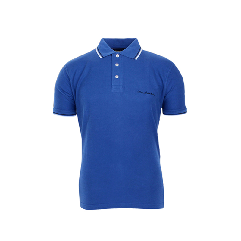 Polo Μπλε Pierre Cardin με Ρίγα 01-15-08 Blue