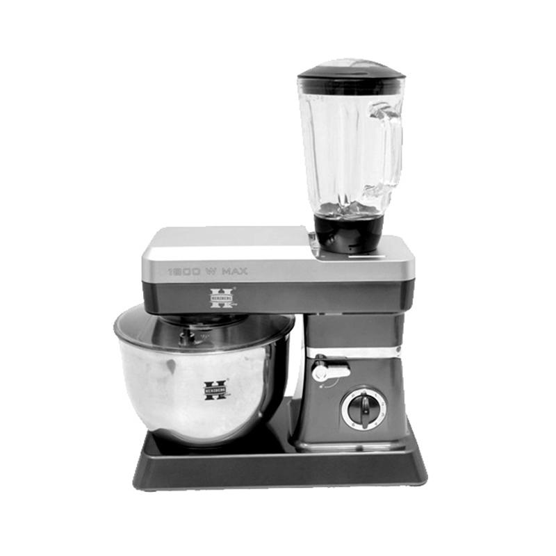 Κουζινομηχανή Herzberg Χρώματος Ασημί HG-5065