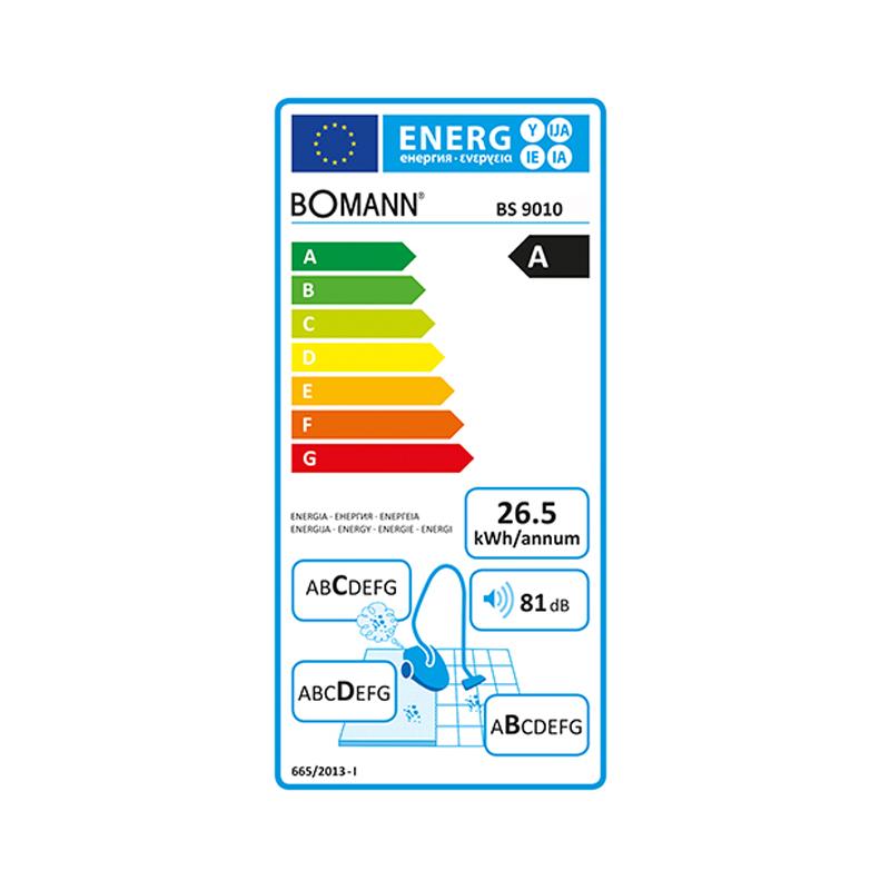 Ηλεκτρική Σκούπα Bomann BS-9010 800W