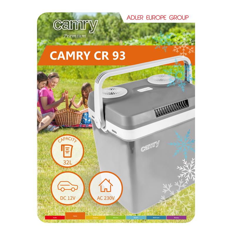 Φορητό Ψυγείο Camry CR-93