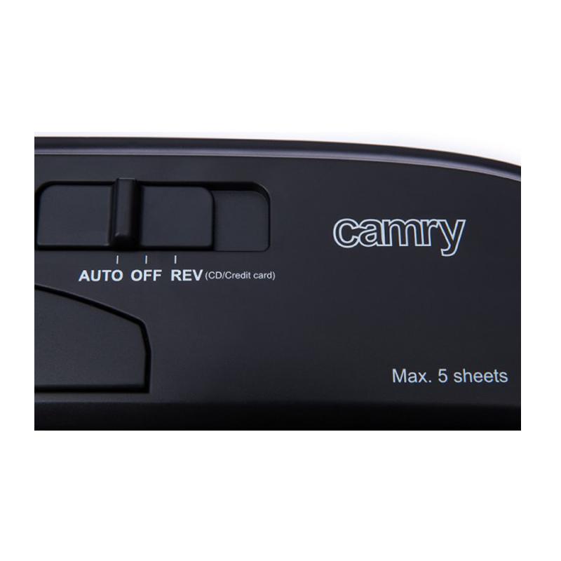 Καταστροφέας Εγγράφων CD και Καρτών Camry CR-1033