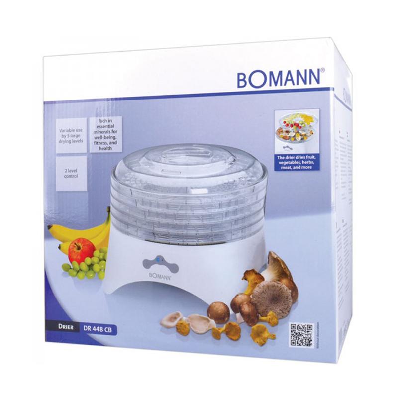 Αποξηραντής Τροφίμων Bomann Φρούτων και Λαχανικών DR448CB