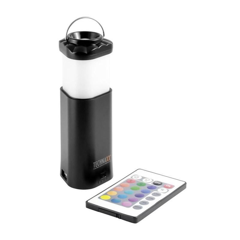Power Bank - Φανάρι Technaxx με Εφέ Φωτισμού Χρώματος Μαύρο TX-31-black