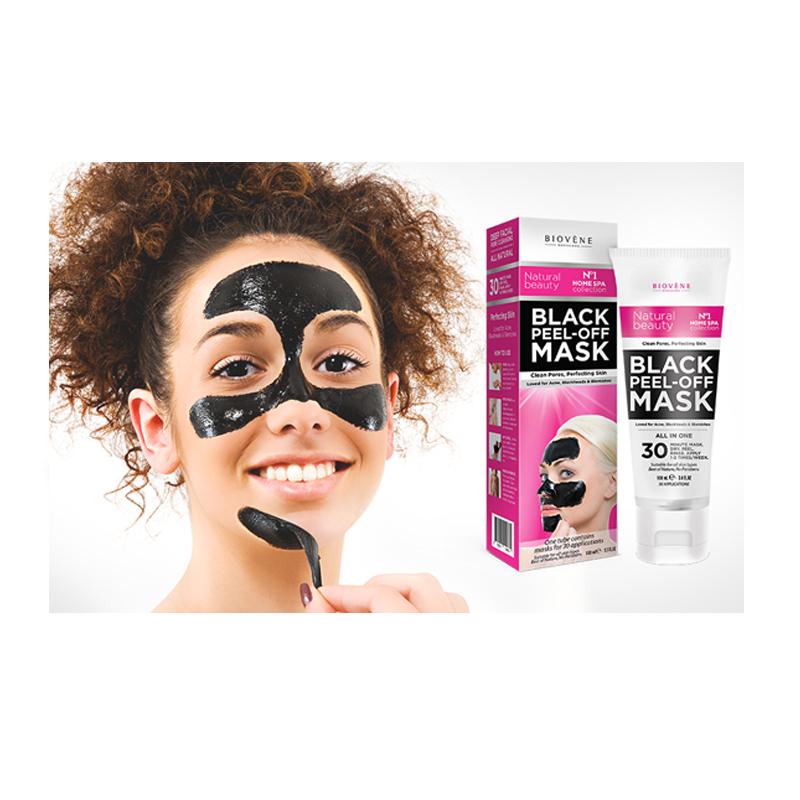Μάσκα Καθαρισμού Προσώπου Μαύρη Biovene Peel-Οff