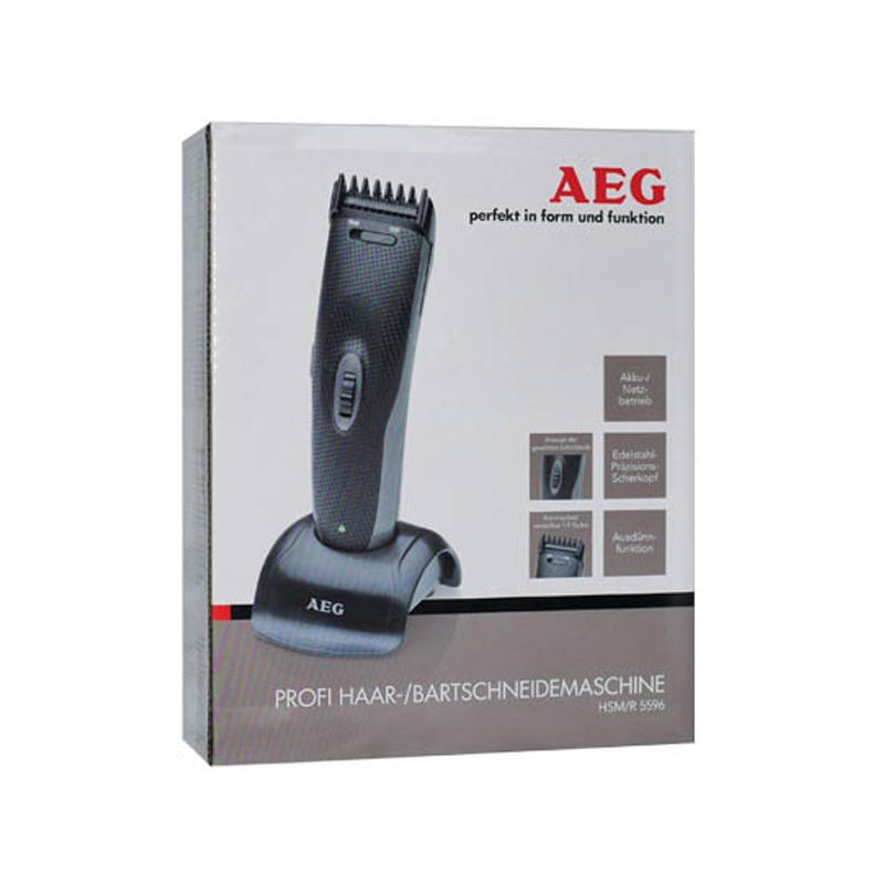 Κουρευτική - Ξυριστική Μηχανή AEG Επαναφορτιζόμενη HSM5596