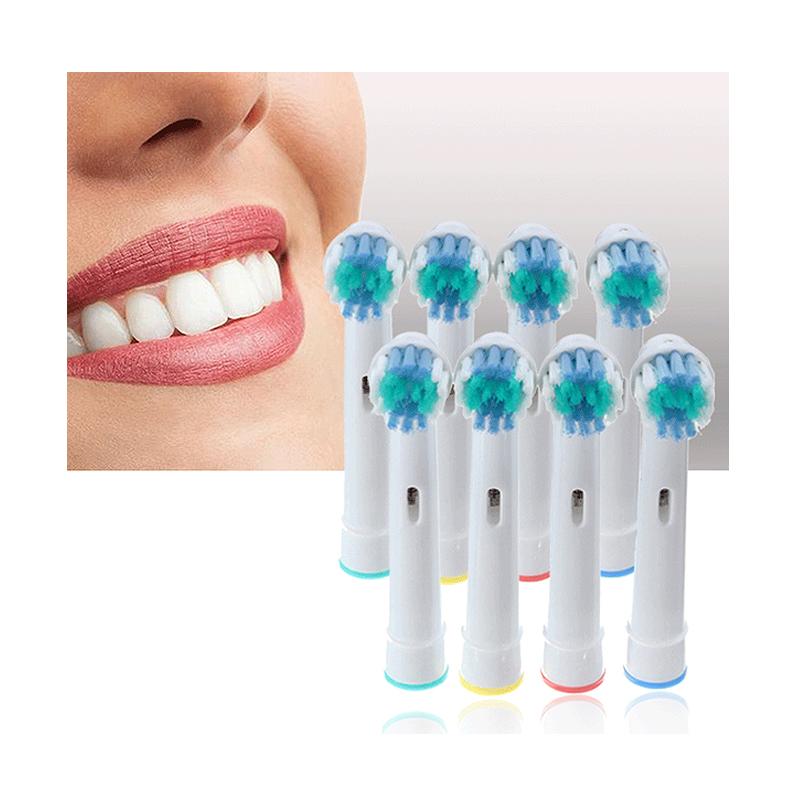 Συμβατά Ανταλλακτικά Βουρτσάκια Cenocco για Οδοντόβουρτσες Oral-Β 8 τμχ CC-9029