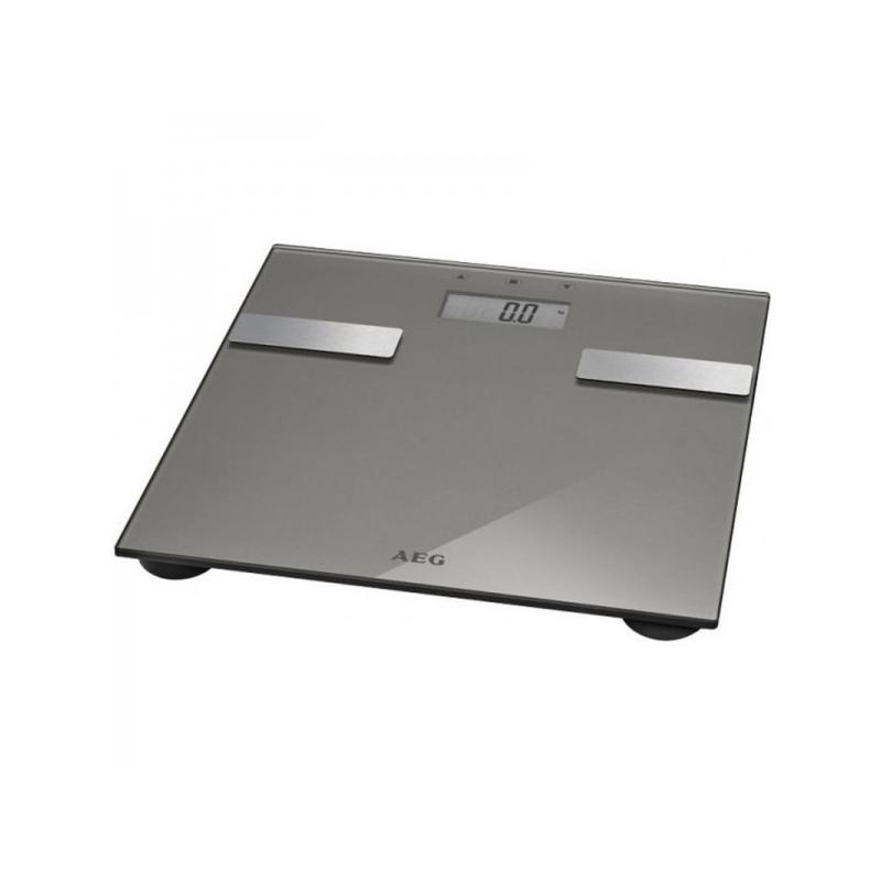 Ψηφιακή Ζυγαριά Μπάνιου Λιπομετρητής Χρώματος Γκρι AEG PW5644