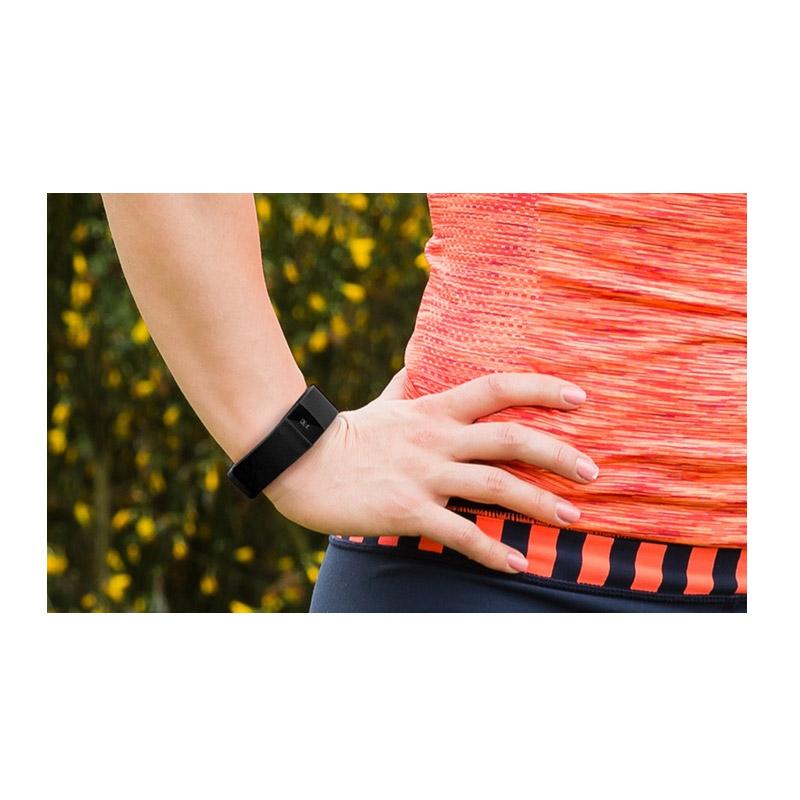 Ρολόι Fitness Tracker Aquarius με Bluetooth Χρώματος Μαύρο R123814