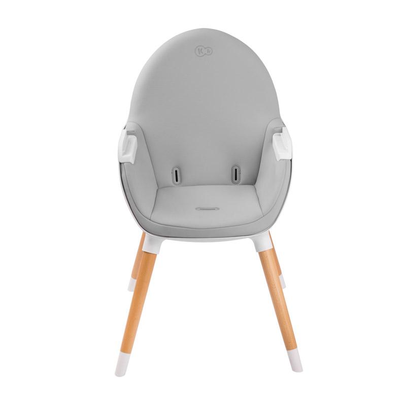 Παιδικό Κάθισμα Φαγητού 2 σε 1 Χρώματος Γκρι KinderKraft FINI KKKFINIGRY0000
