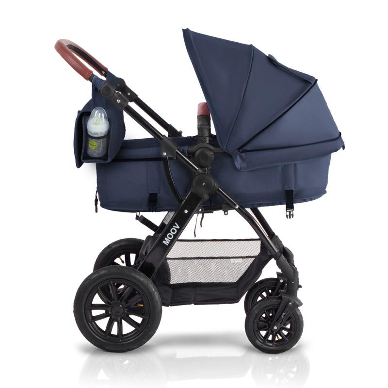 Παιδικό Καρότσι 3 σε 1 Χρώματος Μπλε KinderKraft MOOV