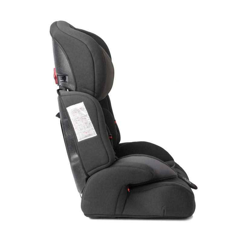 Παιδικό Κάθισμα Αυτοκινήτου Χρώματος Μαύρο για Παιδιά 9-36 Kg KinderKraft Comfort Up