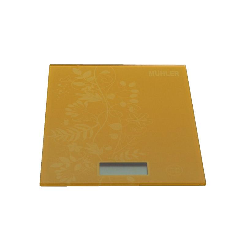 Ψηφιακή Ζυγαριά Κουζίνας Muhler Χρώματος Καφέ KSC-2028