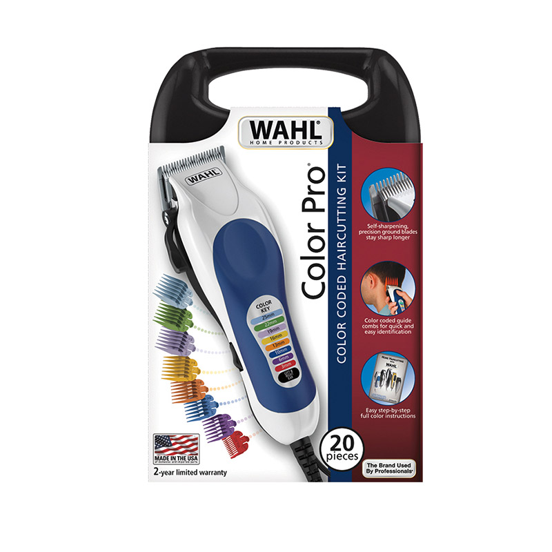Κουρευτική Μηχανή Ρεύματος Wahl Color Pro 3015-0470 Σε Βαλιτσάκι 30016
