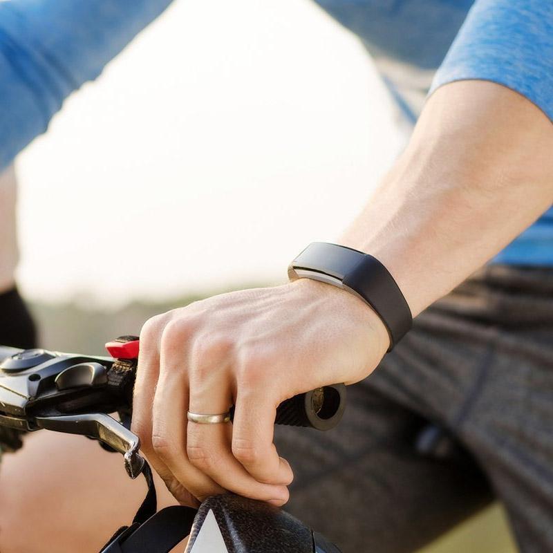 Ρολόι Fitness Tracker Aquarius AQ125HR με Μετρητή Καρδιακών Παλμών Χρώματος Μωβ R157697