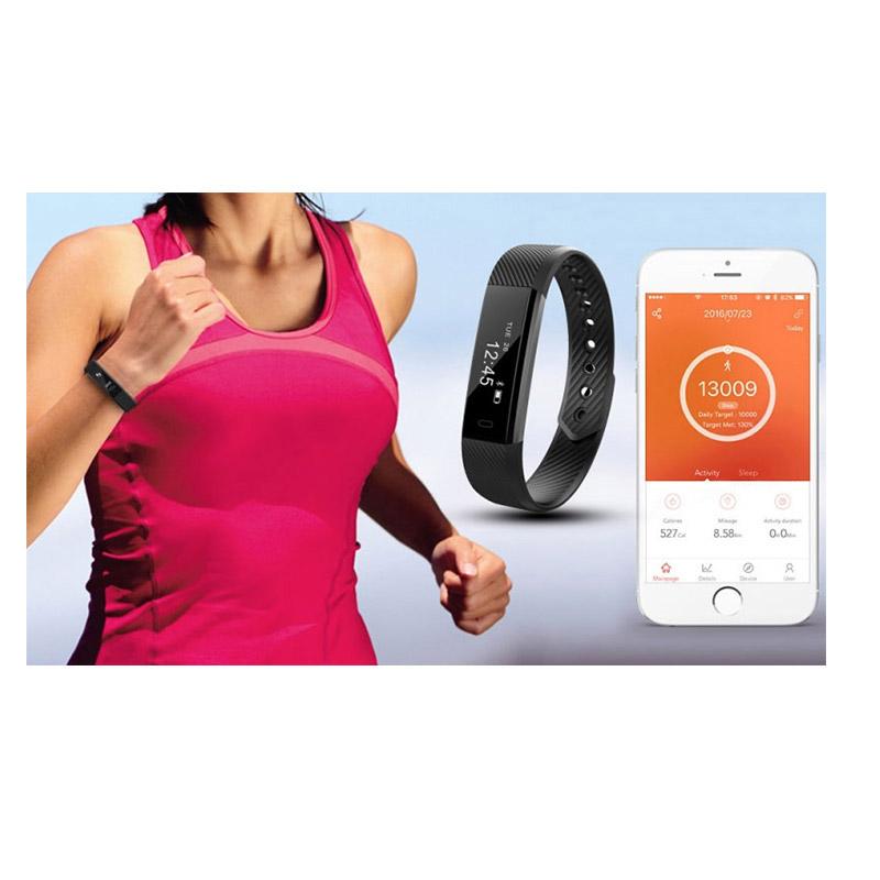 Ρολόι Fitness Tracker Aquarius AQFW02 με Οθόνη Αφής Χρώματος Μαύρο R140201
