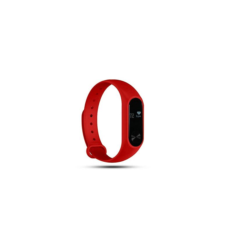Ρολόι Fitness Tracker Aquarius AQ112 με Μετρητή Καρδιακών Παλμών για Παιδιά και Ενήλικες Χρώματος Κόκκινο R161641