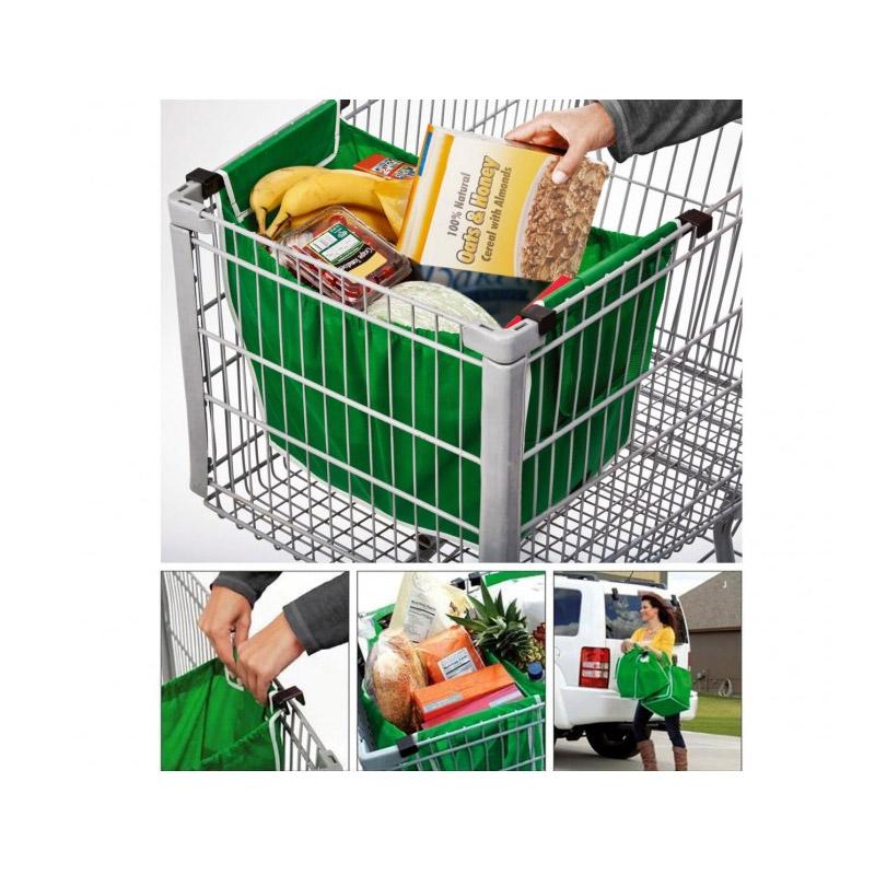 Σετ 2 Τσάντες Επαναλαμβανόμενης Χρήσης για Ψώνια MWS3107