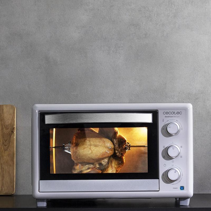 Ηλεκτρικό Φουρνάκι Cecotec Bake & Toast 690 Gyro CEC-02208