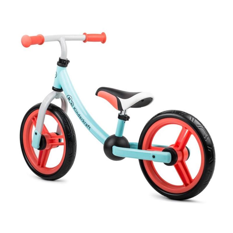 Παιδικό Ποδήλατο Ισορροπίας Kinderkraft 2Way Next 2018 Χρώματος Mint
