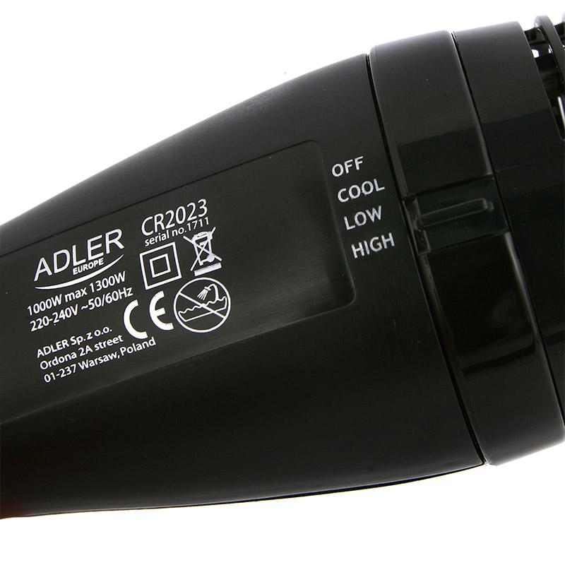 Στεγνωτήρας Μαλλιών και Βούρτσα 2 σε 1 Adler AD2023