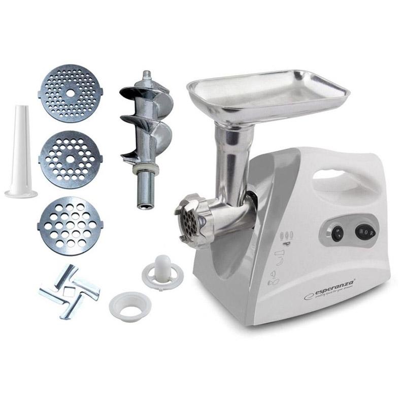 Κουζινομηχανή - Κρεατομηχανή από Ανοξείδωτο Ατσάλι Esperanza EKM012E