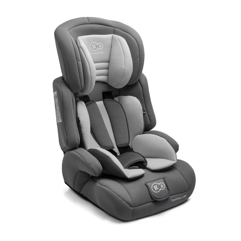 Παιδικό Κάθισμα Αυτοκινήτου Χρώματος Γκρι για Παιδιά 9-36 Kg KinderKraft Comfort Up
