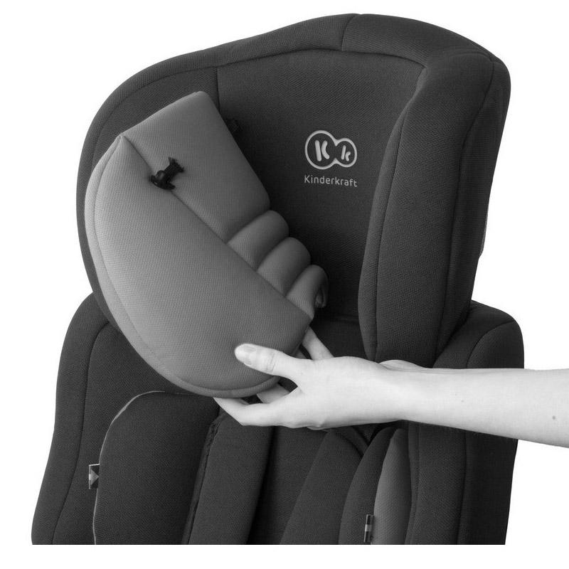 Παιδικό Κάθισμα Αυτοκινήτου Χρώματος Ροζ για Παιδιά 9-36 Kg KinderKraft Comfort Up