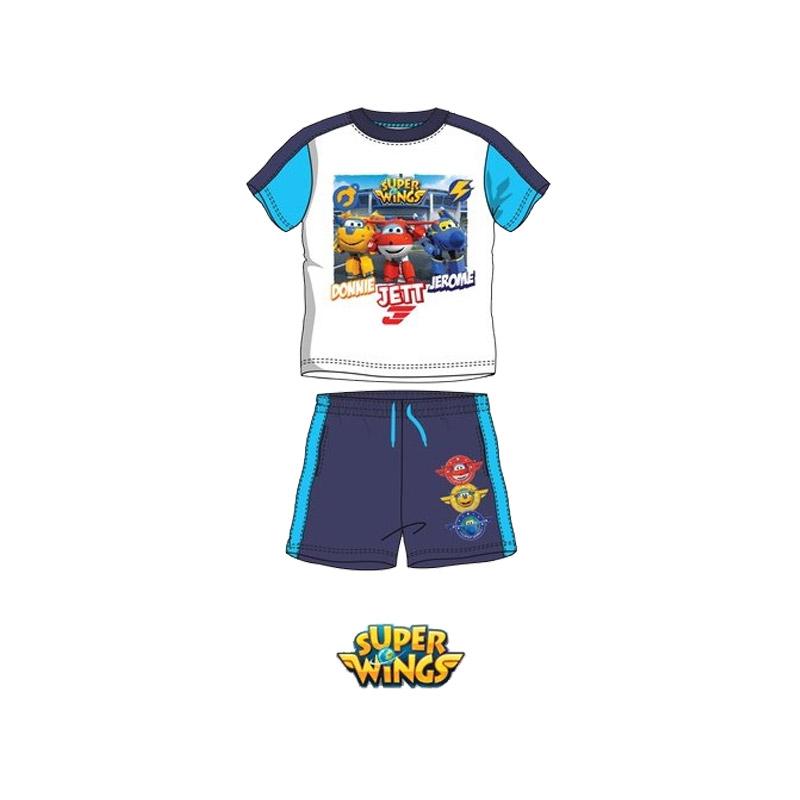 2cb64e673ff Παιδικό Σετ Μπλούζα - Σορτς Χρώματος Μπλε Super Wings Disney QE1599