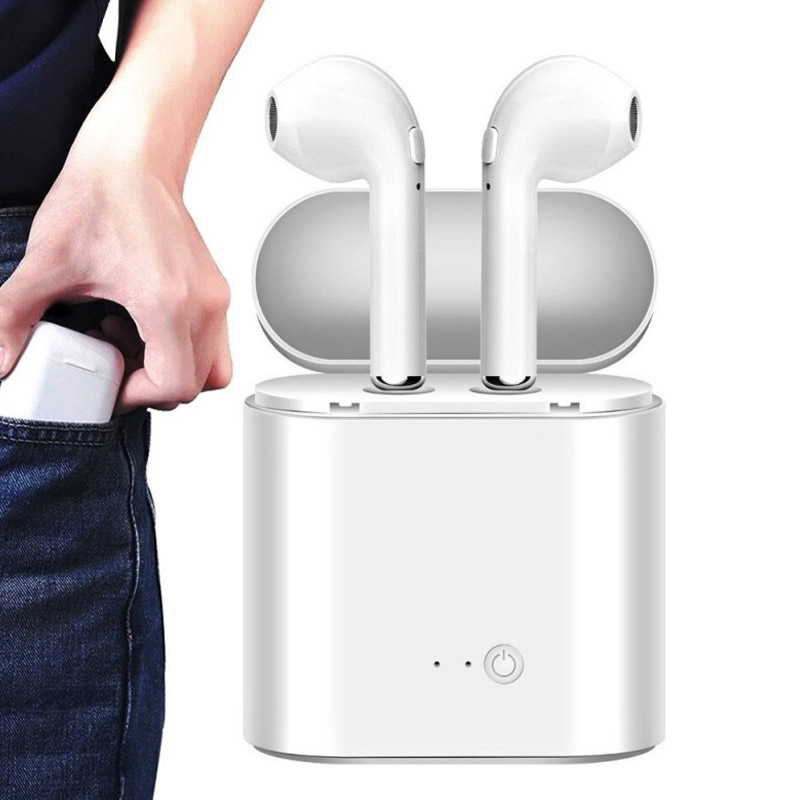 Ακουστικά Bluetooth με Θήκη Φόρτισης SPM BN22-7S