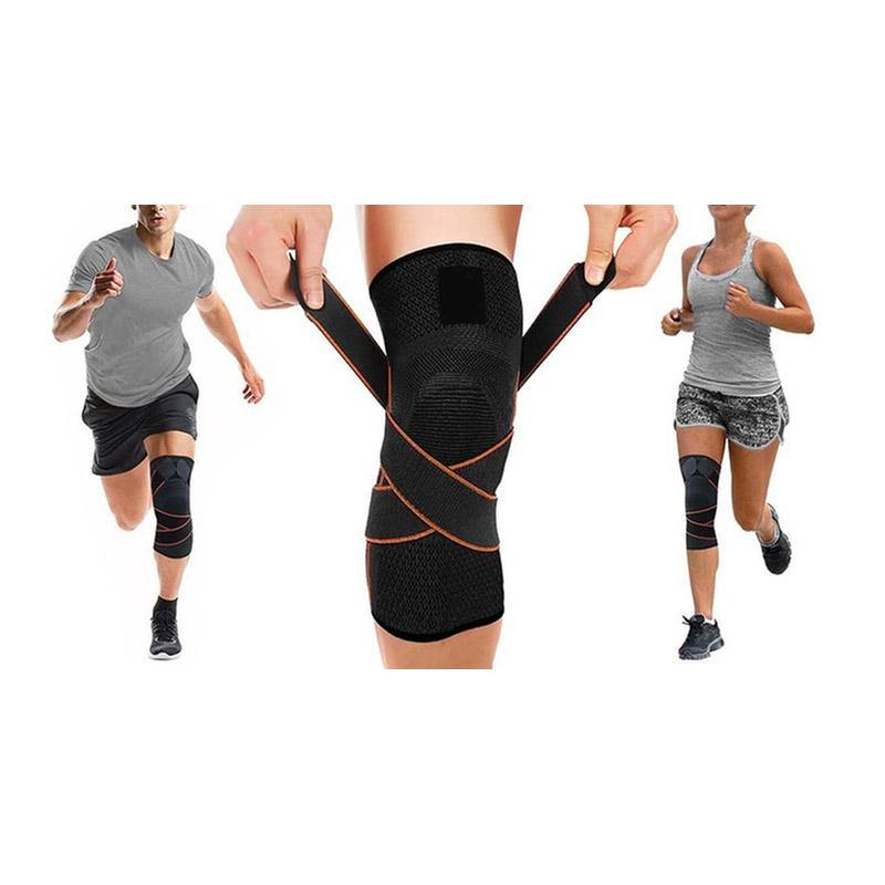 Επιγονατίδα με Ρυθμιζόμενους Ιμάντες strap knee sleeve SPM strapkneesleeve