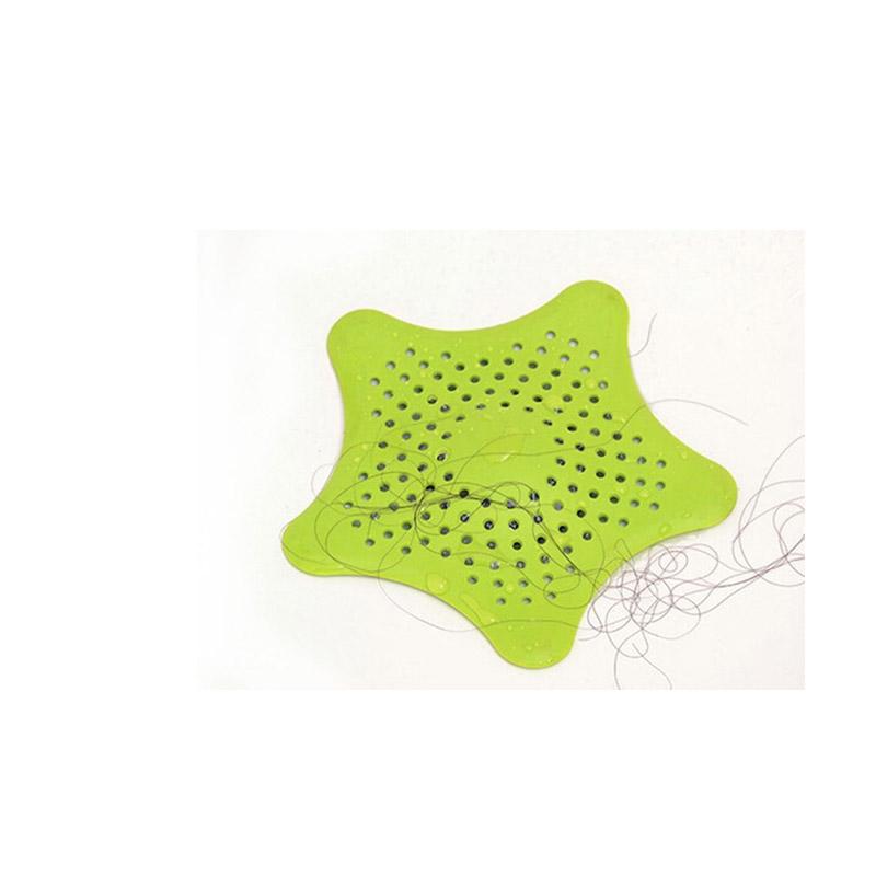 Τάπα Σιφωνιού για τις Τρίχες σε Σχήμα Αστερία Χρώματος Πράσινο SPM plug filter GREEN