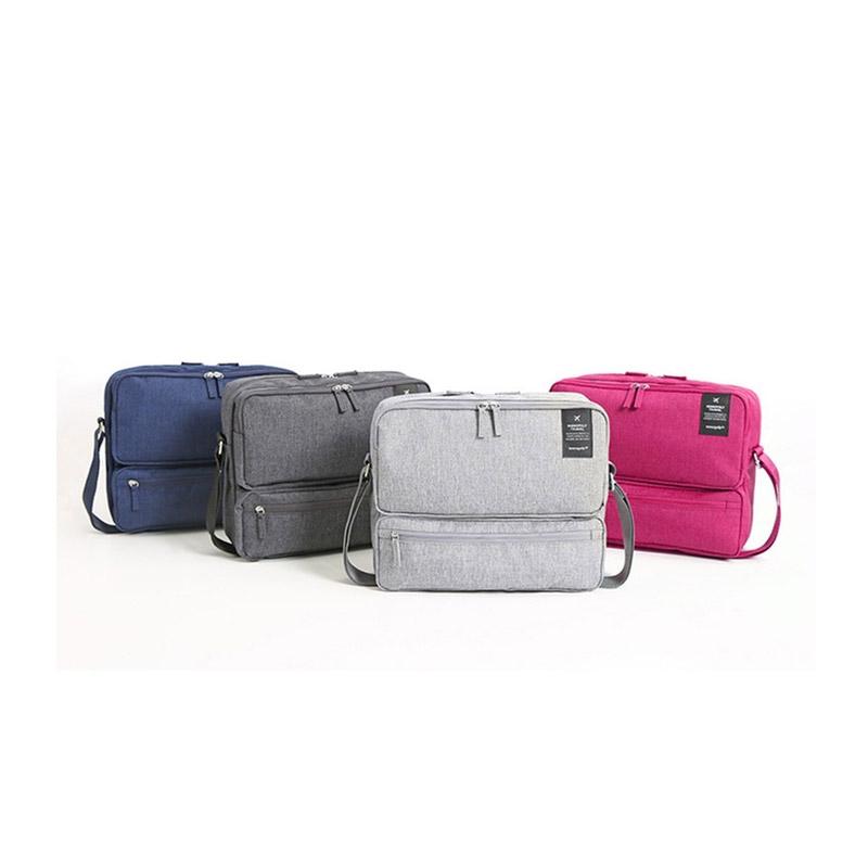 Τσάντα Ταξιδίου με Πολλές Θήκες Χρώματος Μπλε SPM Carrybag-NAVY