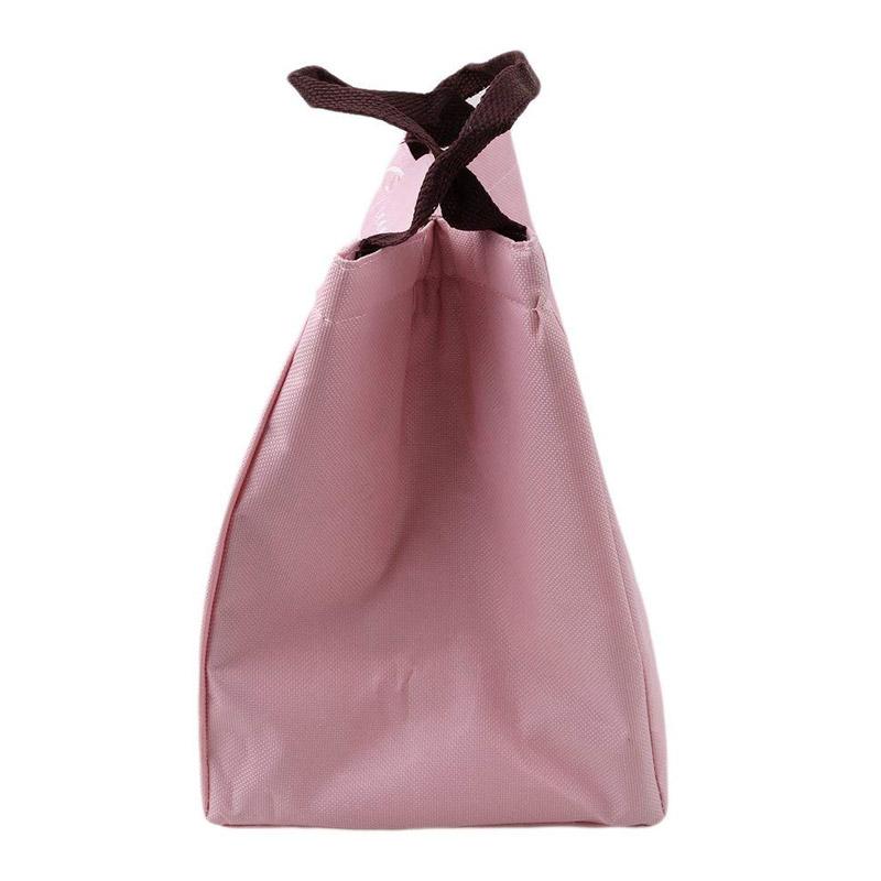 Ισοθερμική Τσάντα Φαγητού με Σχέδιο Φλαμίνγκο Χρώματος Ροζ V1 SPM VL3194