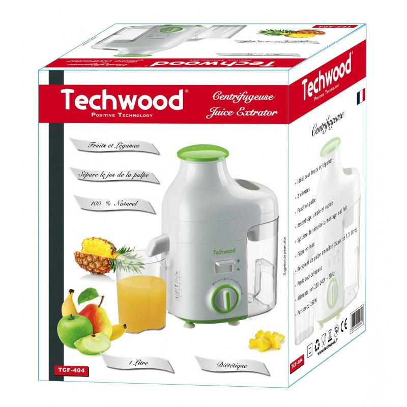 Αποχυμωτής Techwood 250 W Χρώματος Πράσινο TCF-404