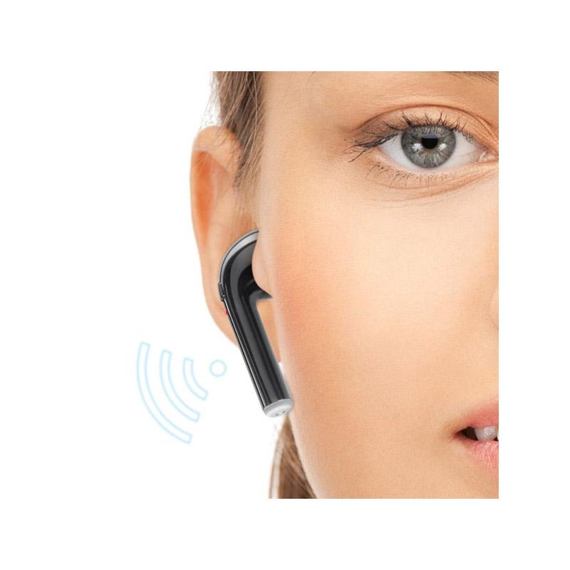 Ασύρματα Ακουστικά Bluetooth με Βάση Φόρτισης Χρώματος Μαύρο Imperii Electronics TE.03.0247.01