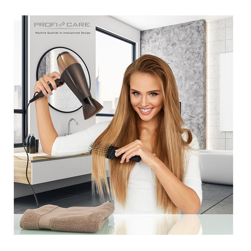 Επαγγελματικό Πιστολάκι Μαλλιών με Ιονιστή 2200 W ProfiCare Χρώματος Καφέ PC -HT3010 2019c974255