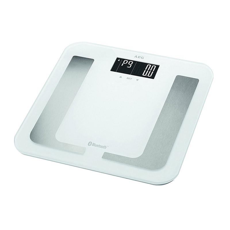 Ηλεκτρονική Ζυγαριά Μπάνιου - Λιπομετρητής με Bluetooth AEG Χρώματος Λευκό PW5653-white
