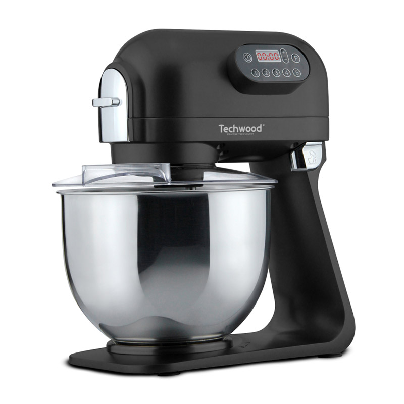 Κουζινομηχανή 1000 W Techwood Χρώματος Μαύρο TRP-5126