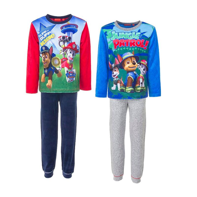 Παιδικές Πυτζάμες Fleece Χρώματος Μπλε Paw Patrol Disney HQ2069 8b380a4a514
