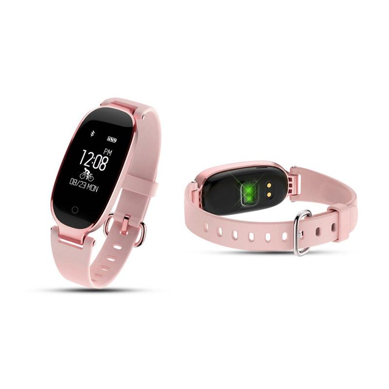 Ρολόι Fitness Aquarius AQ134HR με Μετρητή Καρδιακών Παλμών Χρώματος Ροζ R166169
