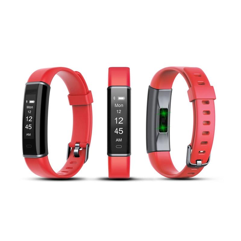 Ρολόι Fitness Tracker Aquarius AQ113 με Μετρητή Καρδιακών Παλμών Χρώματος Κόκκινο R166165