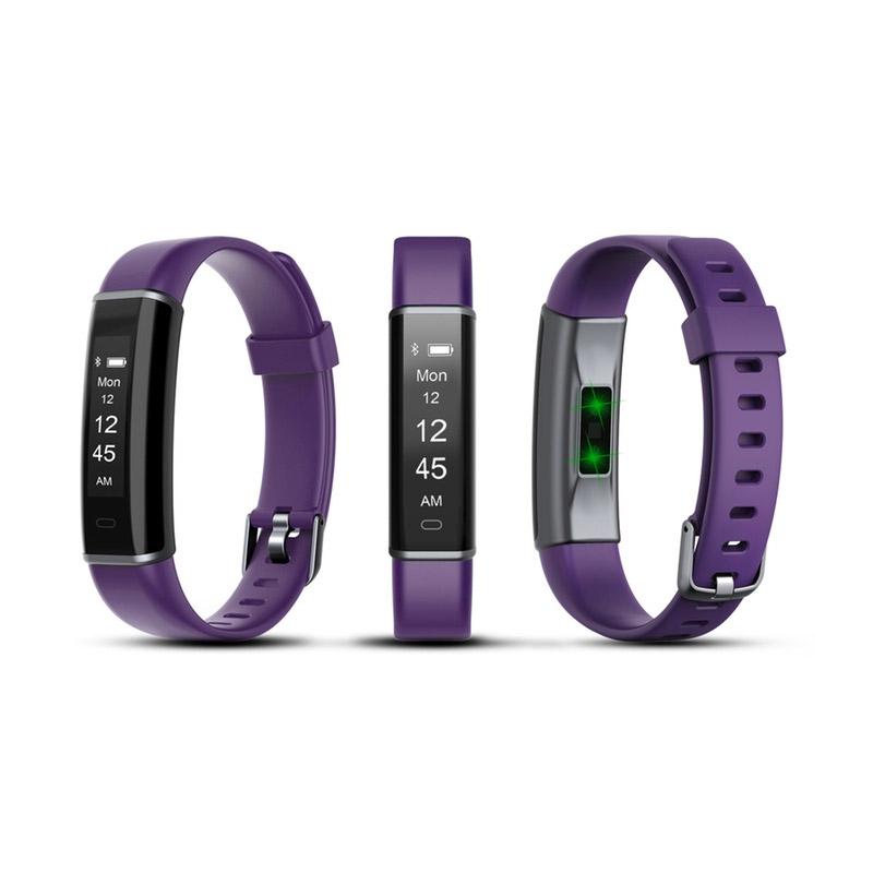 Ρολόι Fitness Tracker Aquarius AQ113 με Μετρητή Καρδιακών Παλμών Χρώματος Μωβ R166163