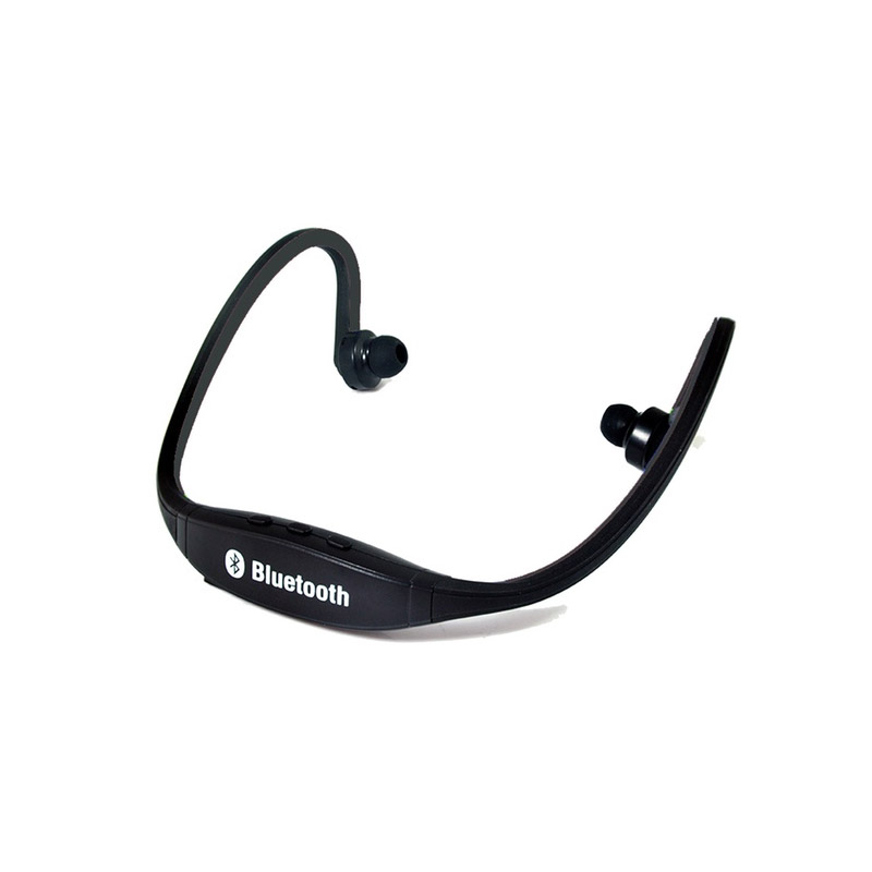 Ασύρματα Ακουστικά Bluetooth Apachie Χρώματος Μαύρο SPTSHPBLK
